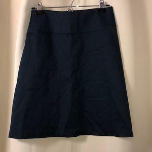 A-line Banana Republic work skirt. Size 0